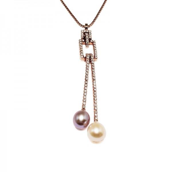 """Pendentif """"Twin Pearl"""""""