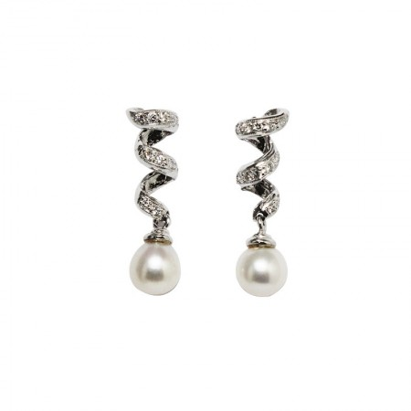 "Pendants d'oreilles ""Pearl of Love"""