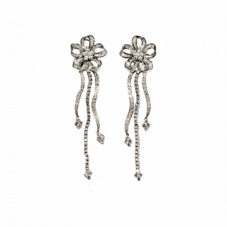 "Pendants d'oreilles ""Royal Marguerite"""
