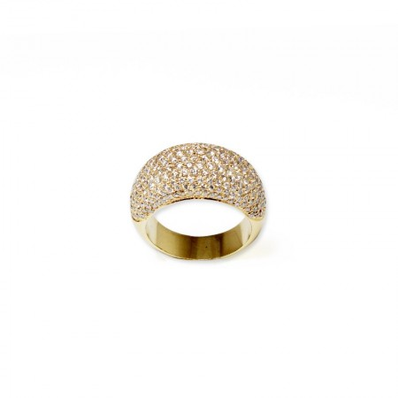 "Bague ""Yellow Paving"""