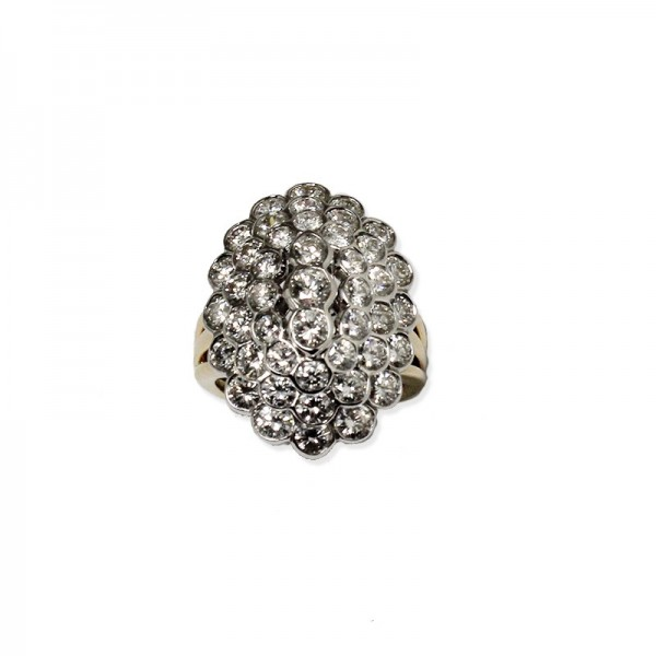 "Bague ""Diamond Marquise"""