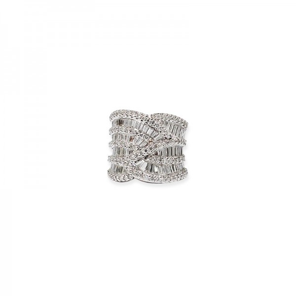 "Bague ""Diamond Mirror """